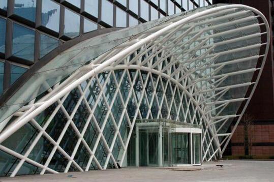 钢结构造型雨棚