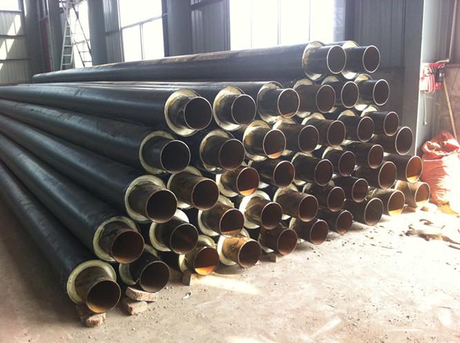 直埋预制保温管件保温弯头三通,钢套钢蒸汽直埋保温管
