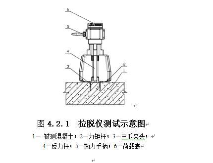 拉脱法混凝土抗压强度检测仪