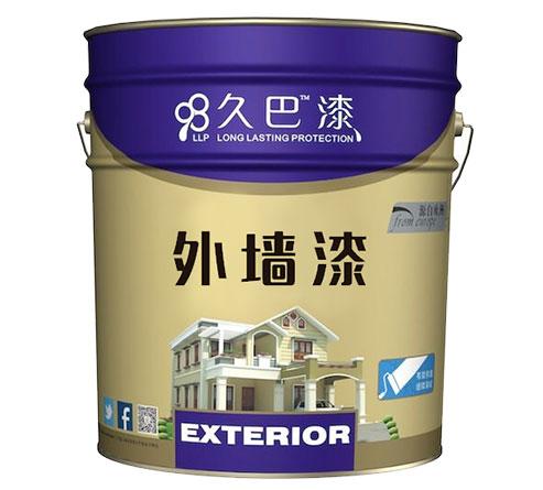 久巴外墙单层拉毛漆,防霉抗菌好选择