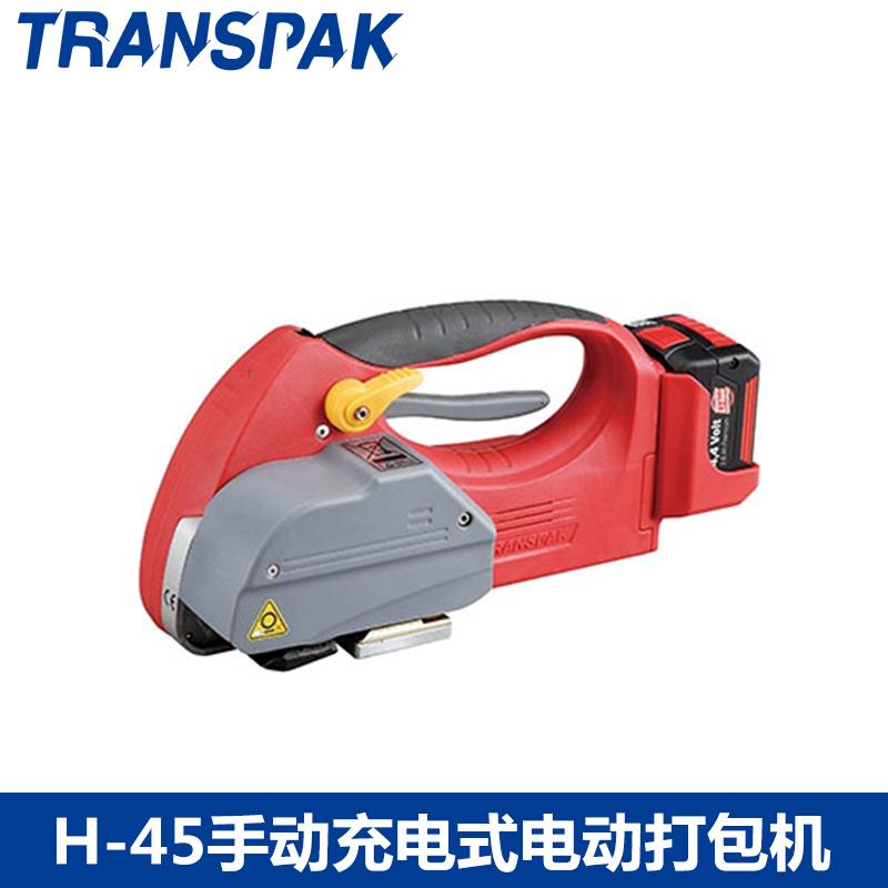 阳江手持式电动打包机TRANSPAK老品牌六安电动捆绑机