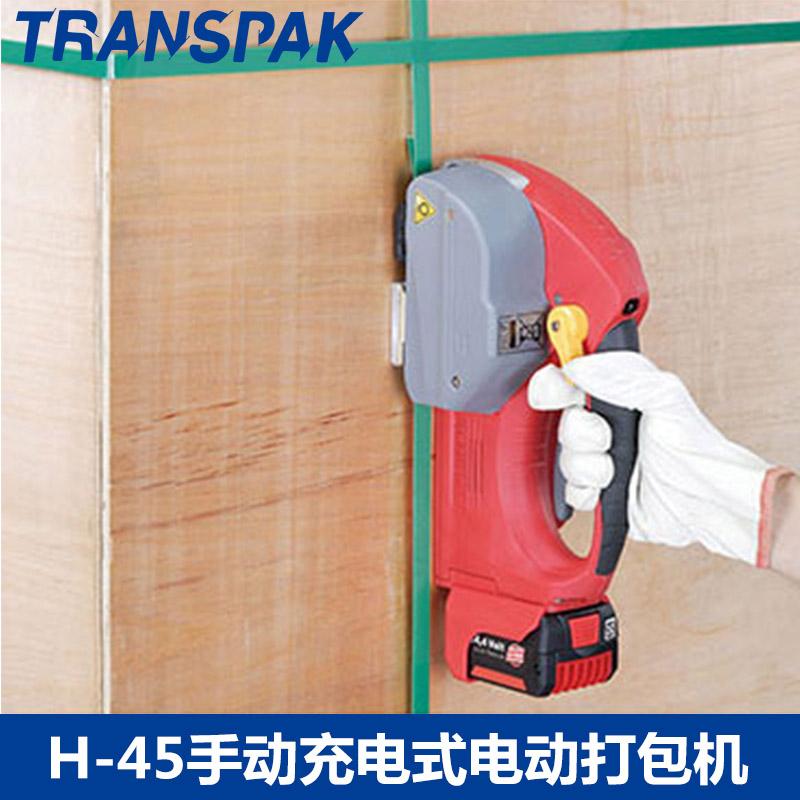 阳江手持式电动打包机马鞍山PP带摩擦热熔粘口机分离式包装机厂