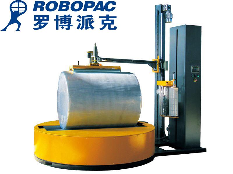 汕头托盘全自动PE伸缩膜打包机始兴县包装薄膜全自动裹包机设备
